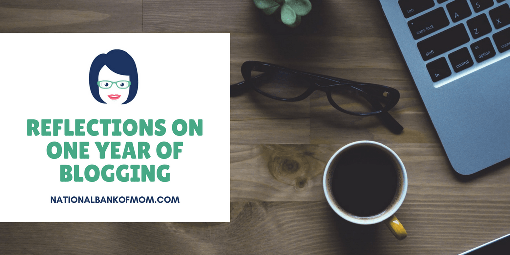 Header image for reflections on one year of blogging