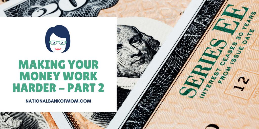 Header image for making your money work harder part 2 savings bonds