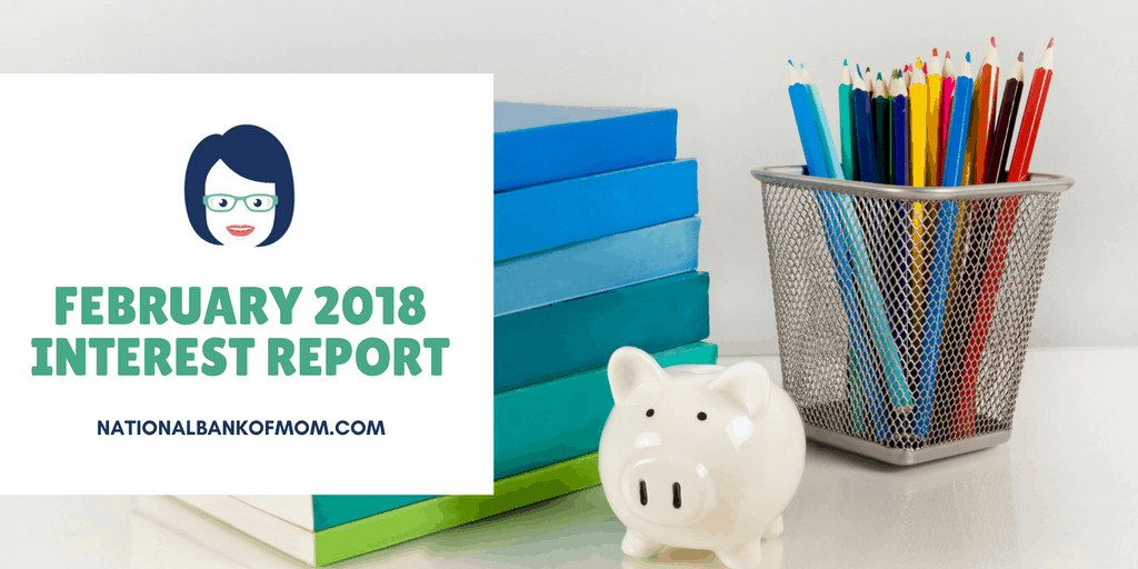 February 2018 Interest Report