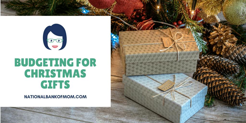 Budgeting for Christmas gifts